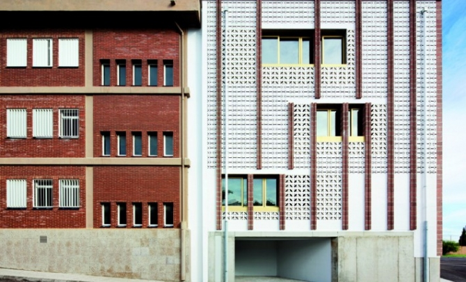 SMS arquitectos_ Extension of the high school IES Josep Sureda i Blanes, Palm
