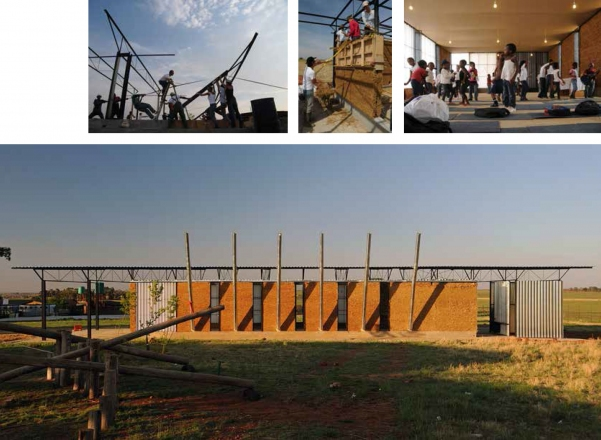 2011 Hall  | Faculty of Architecture, University of Ljubljana | Ithuba Primary School, Johannesburg, South Africa