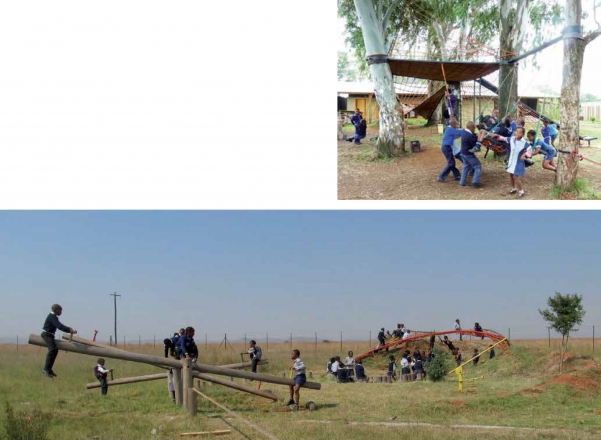 2011-13 Playgrounds 1 and 2 | buildCollective | Ithuba Primary School / Community College, Johannesburg, South Africa