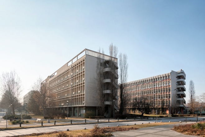 Faculty of Agronomy, 1957-64, arch. Sibin Đorđević, photo Relja Ivanić
