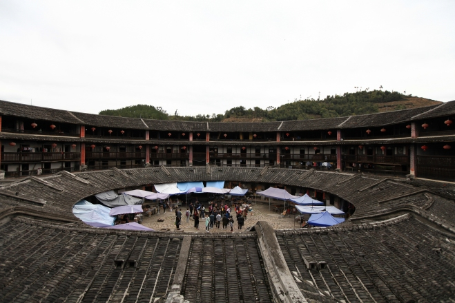 Eryi Tulou in Fujian province, photo: Sebastjan Oblak